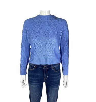 Tonya Cropped Pullover