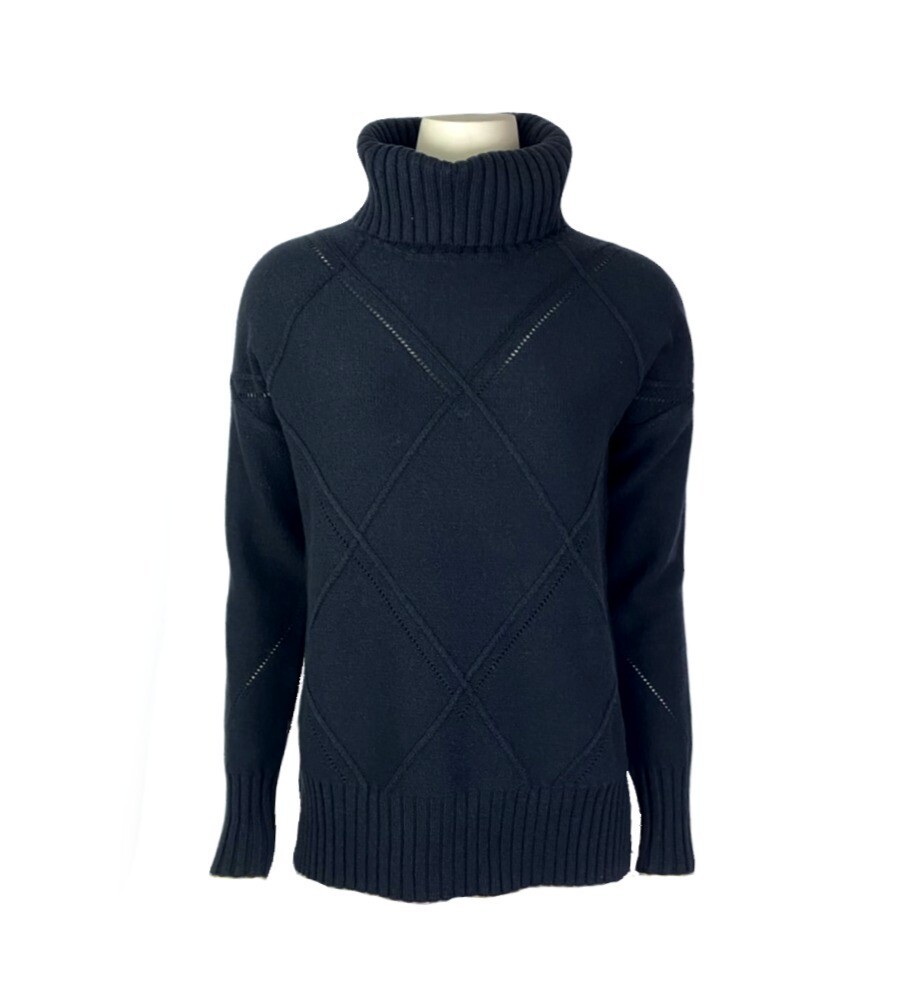 Jill Diamond Cable Sweater