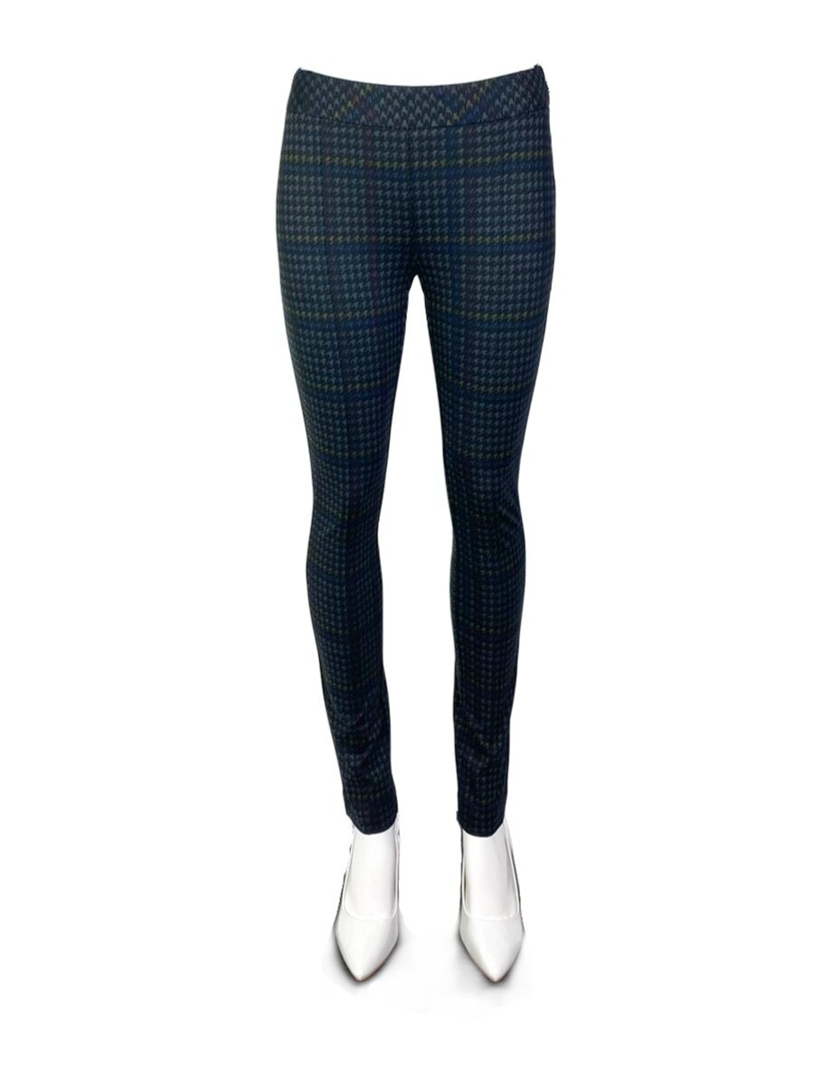 Crayon Color Houndstooth Skinny Pant