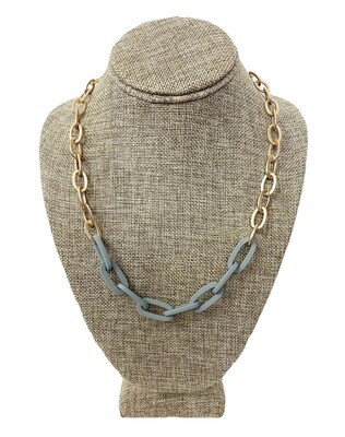 Two Toned Chain Necklace