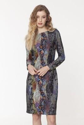 Long Sleeve Miro Scuba Dress