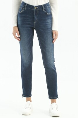 CB Zipper Detail Indigo Jean