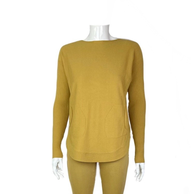 Grommet Back Sweater
