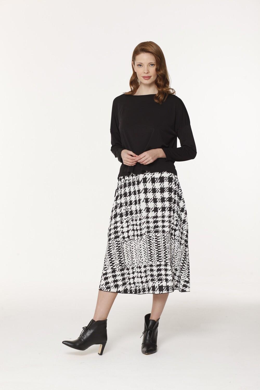 Gigi's Pleated Midi Skirt
