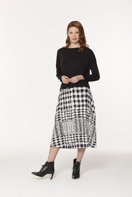 Gigi's Pleated Midi Skirt