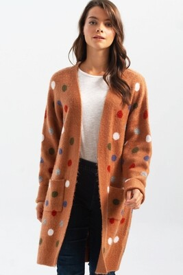 Salted Caramel Reversible Cardigan
