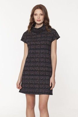 Dwyer Cowl Dress in City