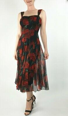 """ Be My Valentine"" Tea Length Dress"