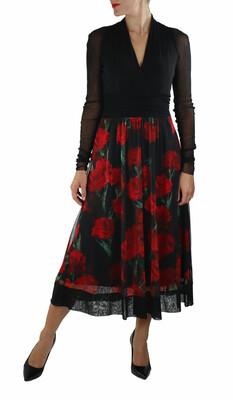 Scarlet Cumberland Dress