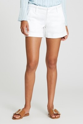 Optic White Hampton Shorts
