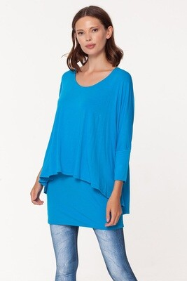 Lagoon Betsy Double Layered Top