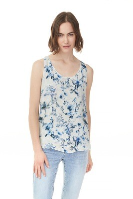 English Garden Reversible Sleeveless Blouse