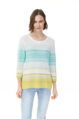 Spring Hill Lime 3/4 Sleeve Sweater