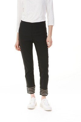 St Augustine Smooth Ankle Black Stretch Pants