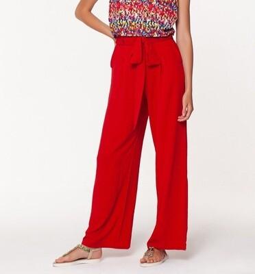 Raspberry Hepburn Pant