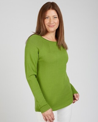 Destin Nights Sweater Basil