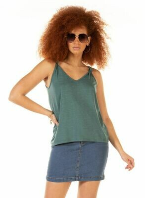 Knot detailed  Teal Tank