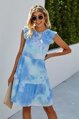 Bahama Blue Swing Dress