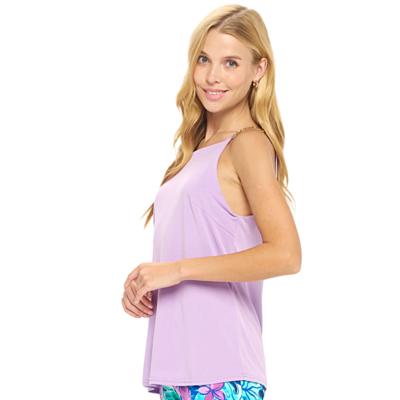 Florin Lavender Top