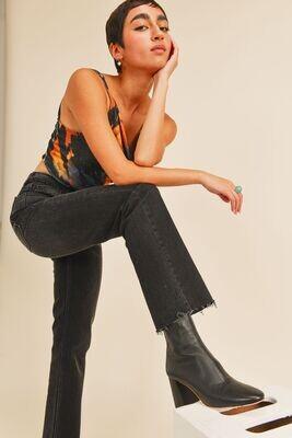 McKenna Cut-Off Straight Leg Jean