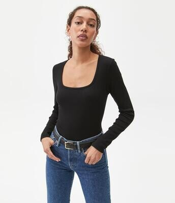 First Frost Top - Black