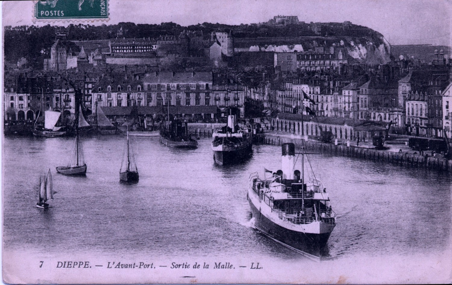 Dieppe, France - The port of Dieppe