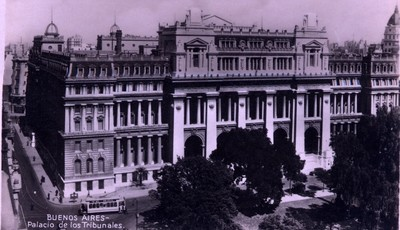 Buenos Aires - Palacio de los Tribunales