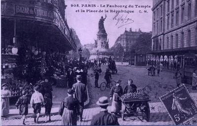Paris - Faubourg du Temple