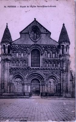 Poitiers, France - Church