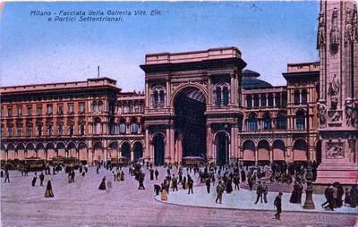 Milan - Galleria Vittorio Emmanuele