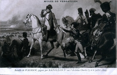 Painting - Battle of Wagram Vernet