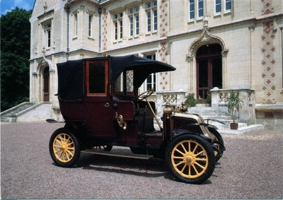 Renault type AG 1 - 1911 Taxi