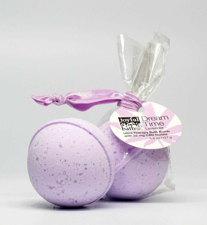 Dream Time - Lavender Hemp Bath Bomb