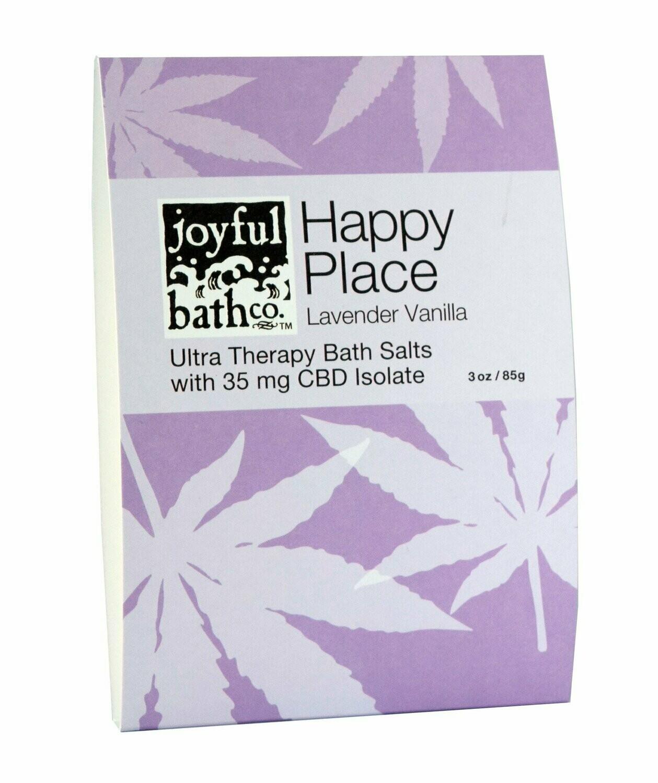Happy Place - Lavender Vanilla Hemp Bath Salts