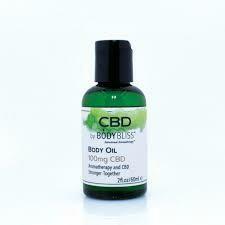 Body Bliss CBD Body Oil 2fl.oz