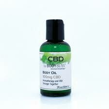 Body Bliss CBD Body Oil 8fl.oz