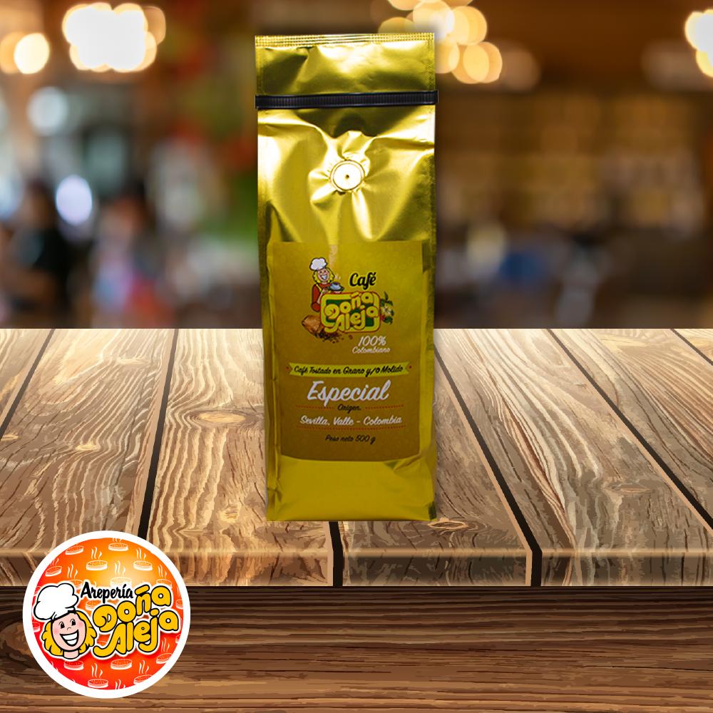Café Especial Molido o en Grano x 500 g