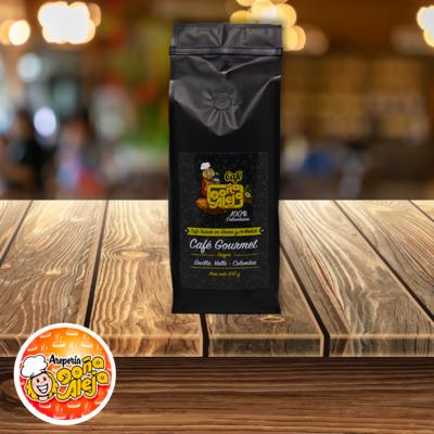Café Gourmet Molido o en Grano x 500 g