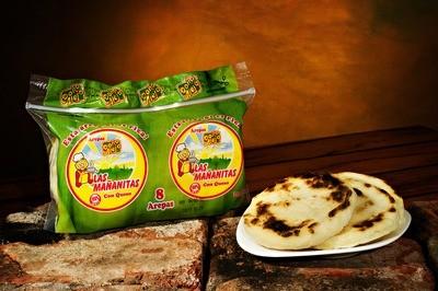 Arepas con queso Las Mañanitas x 8 Un.