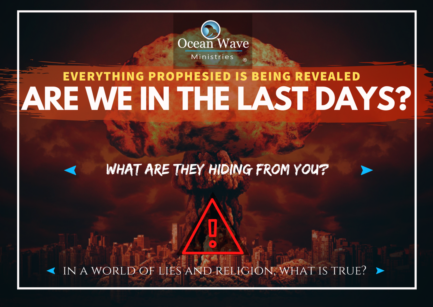 *NEW* End Times Tracts