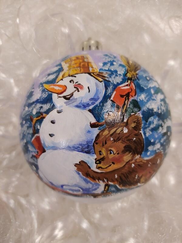 Снеговик и Мишка