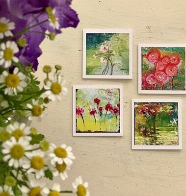 Floral Mini Cards - 3