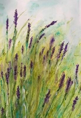 """""""Lavender"""" Print 8.5"""" x 11"""""""