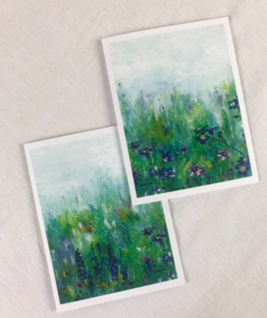 WildFlower Notecards - 4 pack