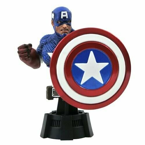 Marvel Comic Captain America Bust Pre-Sale Shipping October/November