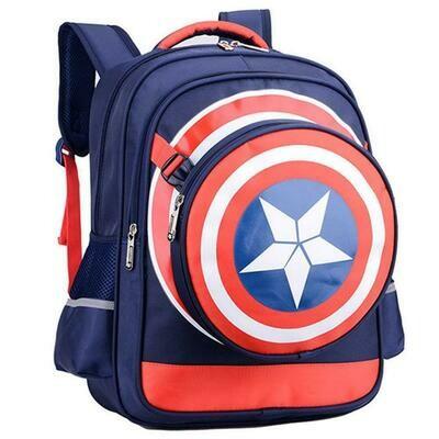 Captain America Comics Bookbag Rucksack Daypack