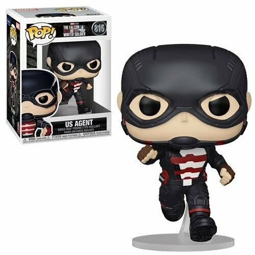 The Falcon and Winter Soldier US Agent Pop! Vinyl Figure Pre-Order Shipping June/July
