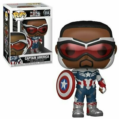 The Falcon and Winter Soldier Captain America Pop! Vinyl Figure Pre-Order Shipping June/July