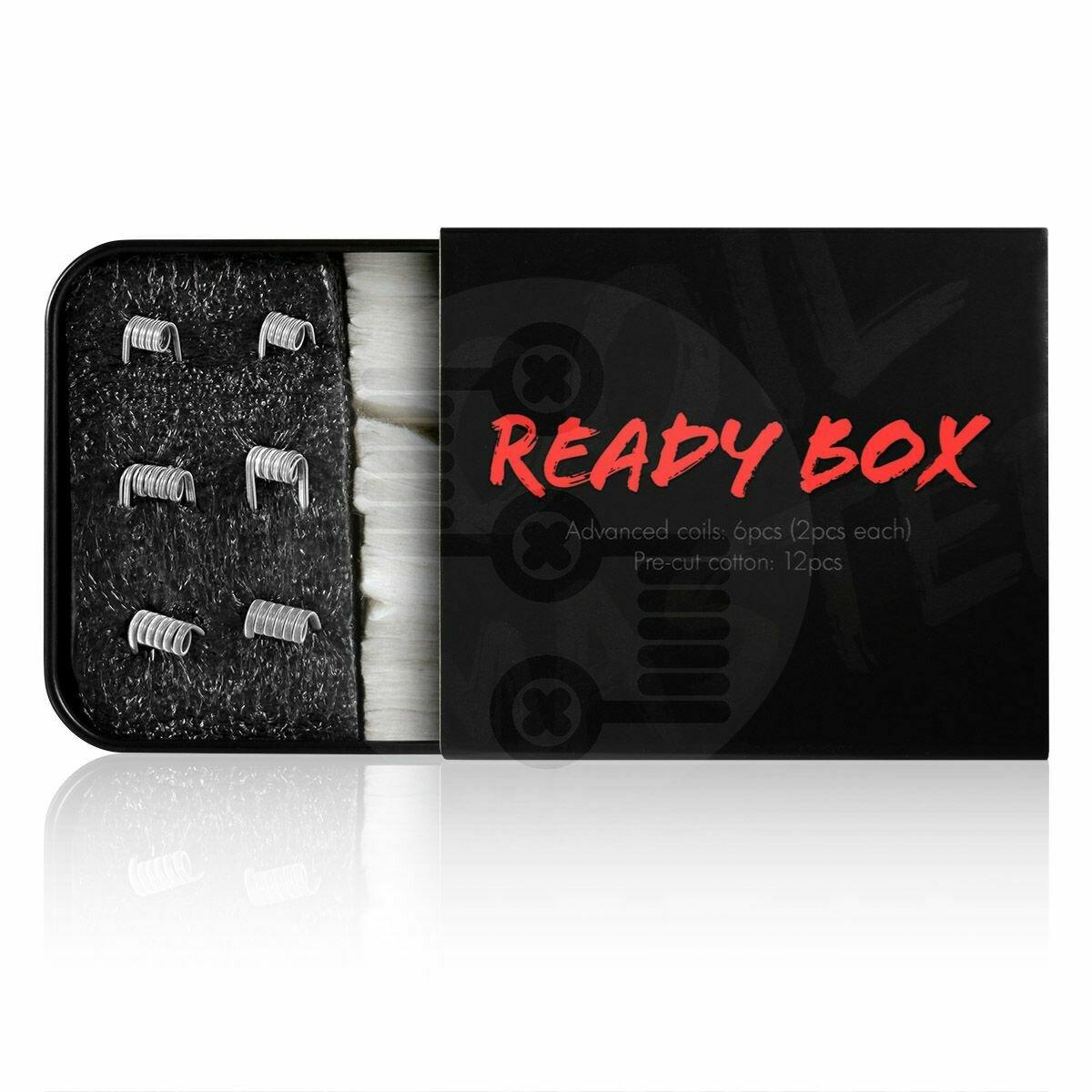 CM Ready Box RDA Coils