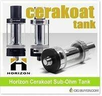 HorizonTech Cerakoat Silver Tank Clearance